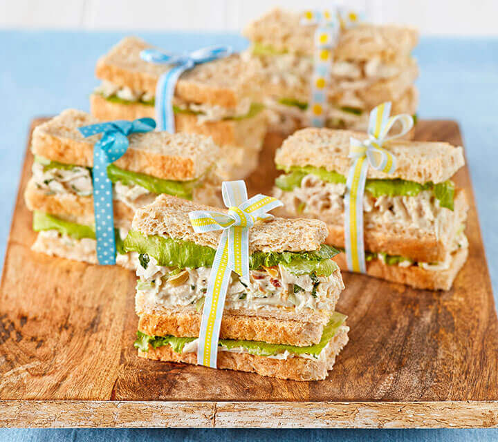 Baby Shower food ideas - 'Best Ever' Chicken Sandwiches