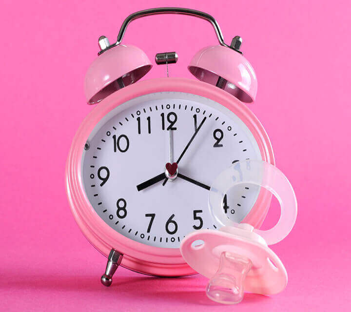 Baby Shower game ideas - Guess the time!