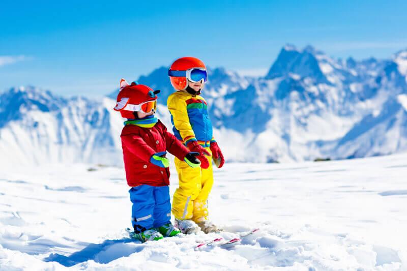 Stunning views and plenty of snow fun